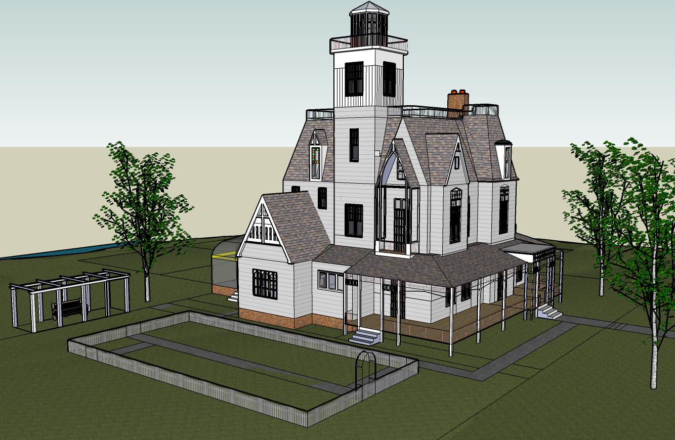 Practical Magic House Floor Plans Escortsea