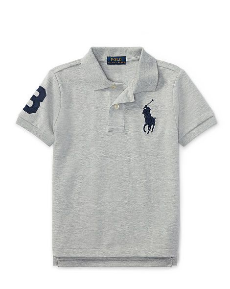 2689107d92de19 Cotton Mesh Polo Shirt - Boys 2-7 Short Sleeve - RalphLauren.com ...