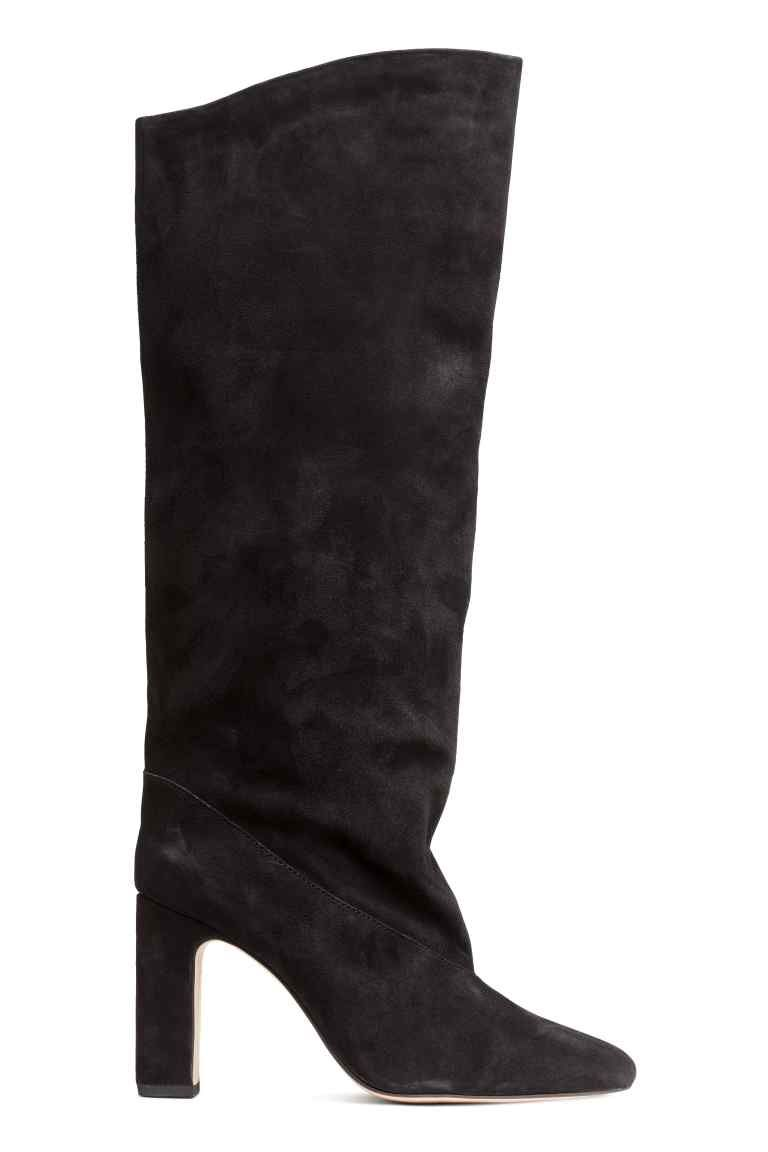 Suede Boots Black Ladies H M 1 Things I Ll Buy Wear