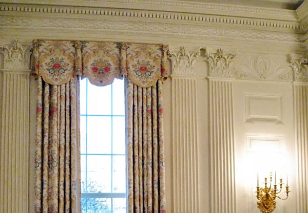 State Dining Room - White House Neo Clical in 2019 ... on designer modern curtain design, white house windows design, white house paint design,