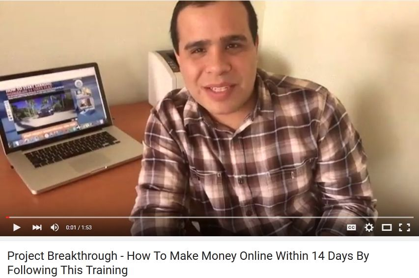 https://youtu.be/p_3GiRXk_Ho How to make money online Project Breakthrough - How To Make Money Online Within 14 Days By Following This Training