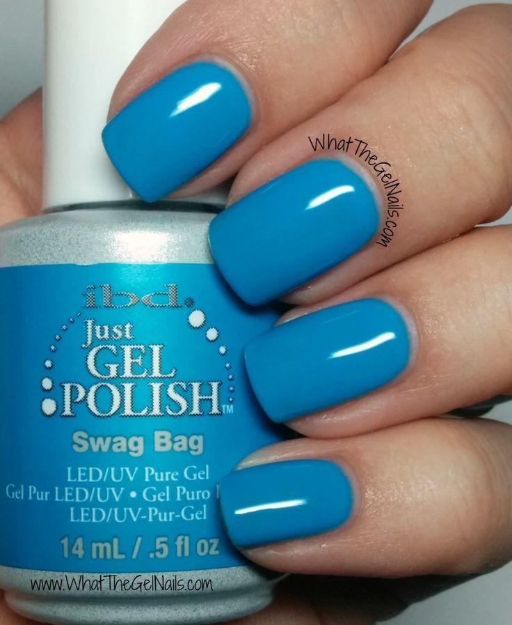 IBD Swag Bag plus more IBD gel polish colors for winter.