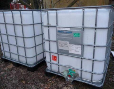 Ibc Container Wassertank Wasserbehalter 1000 L Tank Wie Neu