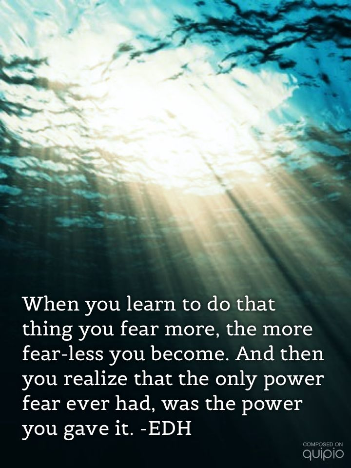 Fearless motivation motivational picture quotes