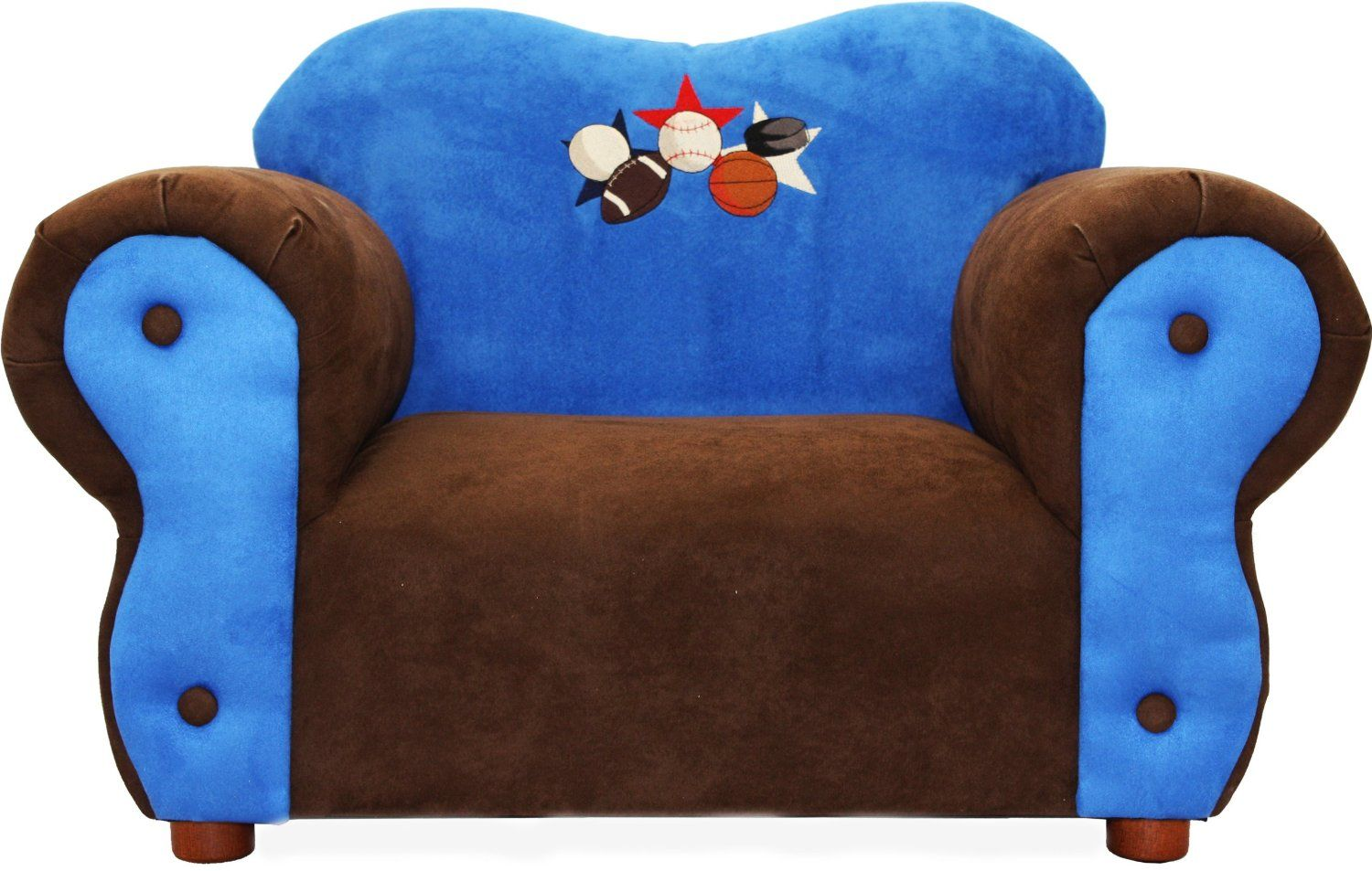 Fantasy furniture kids sports comfy chair groovy kids decor