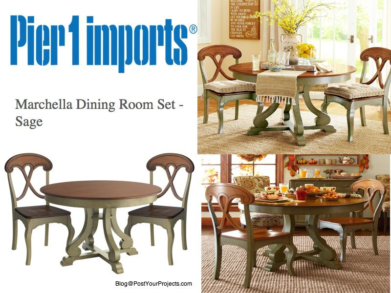 Exceptional Pier1 Imports Marchella Dining Table
