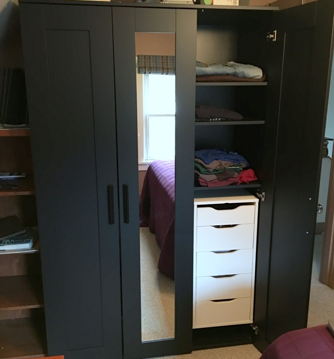 Upgrading Brimnes Wardrobe With Drawer Units Brimnes