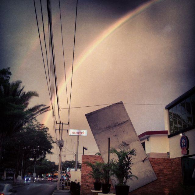 Lluvia de color!