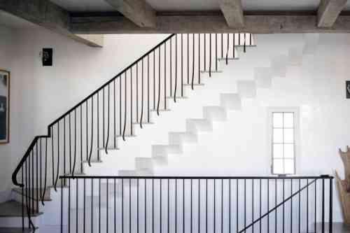 garde corps en fer forgé pour escalier design d'intérieur