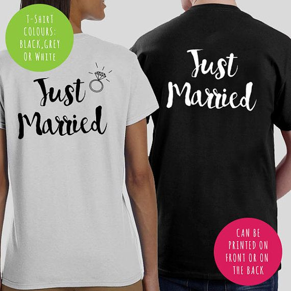 Just Married Husband & Wife Mr and Mrs Groom Bride To Be, Fiance, Twin Feyonce Wedding, Hen Do Girls Party Hoodie Sweater Sweatshirt Jumper