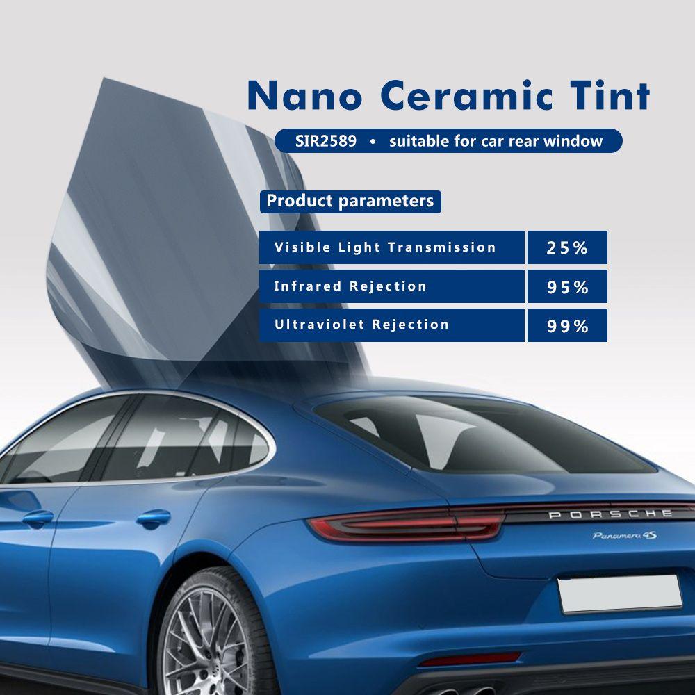 Window Film 25 Nano Ceramic Auto Tints 2ply Home Window Tints