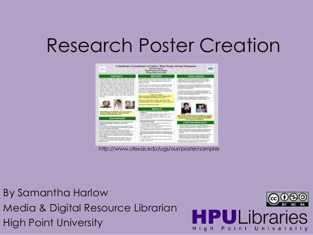 Research Poster Creation http\/\/wwwutexasedu\/ugs\/our\/poster - research poster