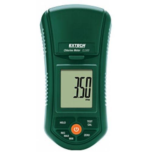 http://termometer.dk/labinstrument-r12931/frit-og-totalt-klor-meter-53-CL500-r35440  Frit og totalt klor Meter  Stor big LCD-og stænktæt frontpanel  Foranstaltninger frit og totalt klor op til 3.50ppm med 0.01ppm opløsning  Avanceret optisk system bruger et smalt bånd LED-lampe, der giver nøjagtige og reproducerbare målinger  Kræver kun en 10mL stikprøvestørrelse  Uafhængig 2-punkts kalibrering for frit og totalt klor, Auto Power Off  Batteridrevet for felt og on-site test...