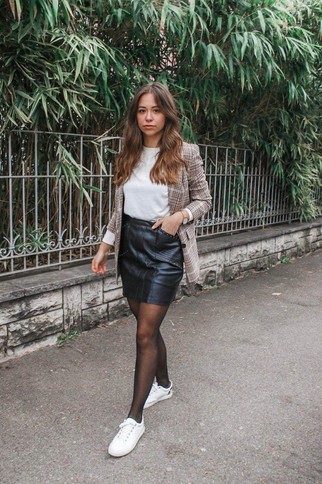 Mein Casual Outfit – karierter Blazer & wie kombinieren wir den Blazer ! – Business outfits