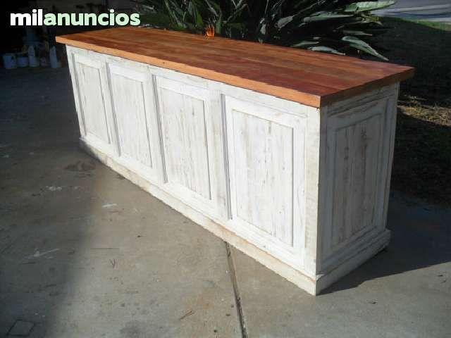 Fabricamos aparadores mostradores con estilo vintage e for Milanuncios muebles vintage