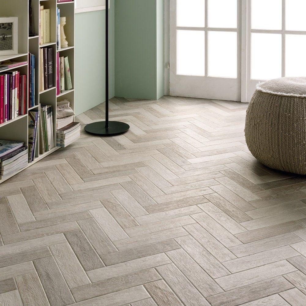 Herringbone Floor Tile Design