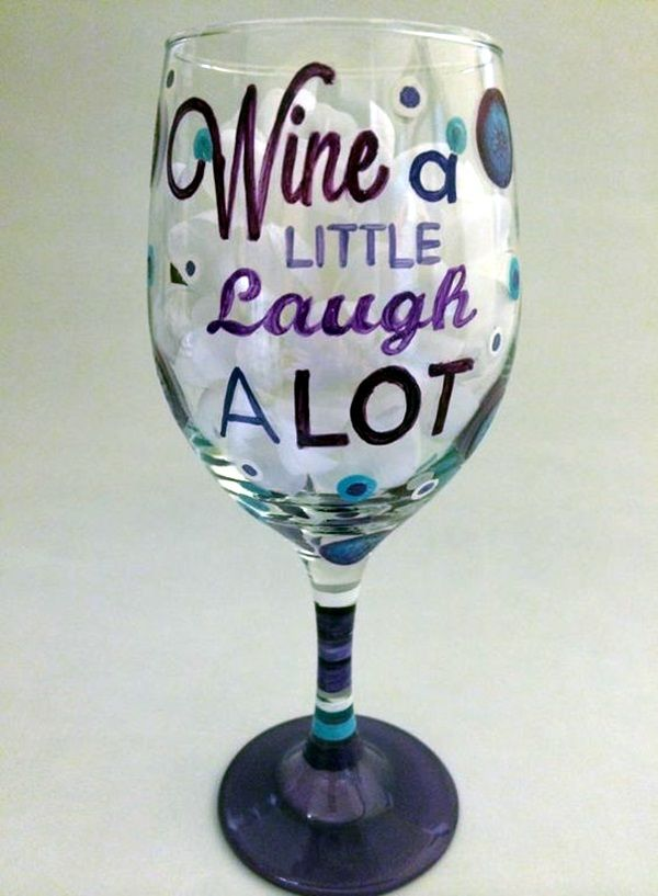 40 Artistic Wine Glass Painting Ideas Bored Art Wine Glass Designs Painted Wine Glass Wine Glass Crafts