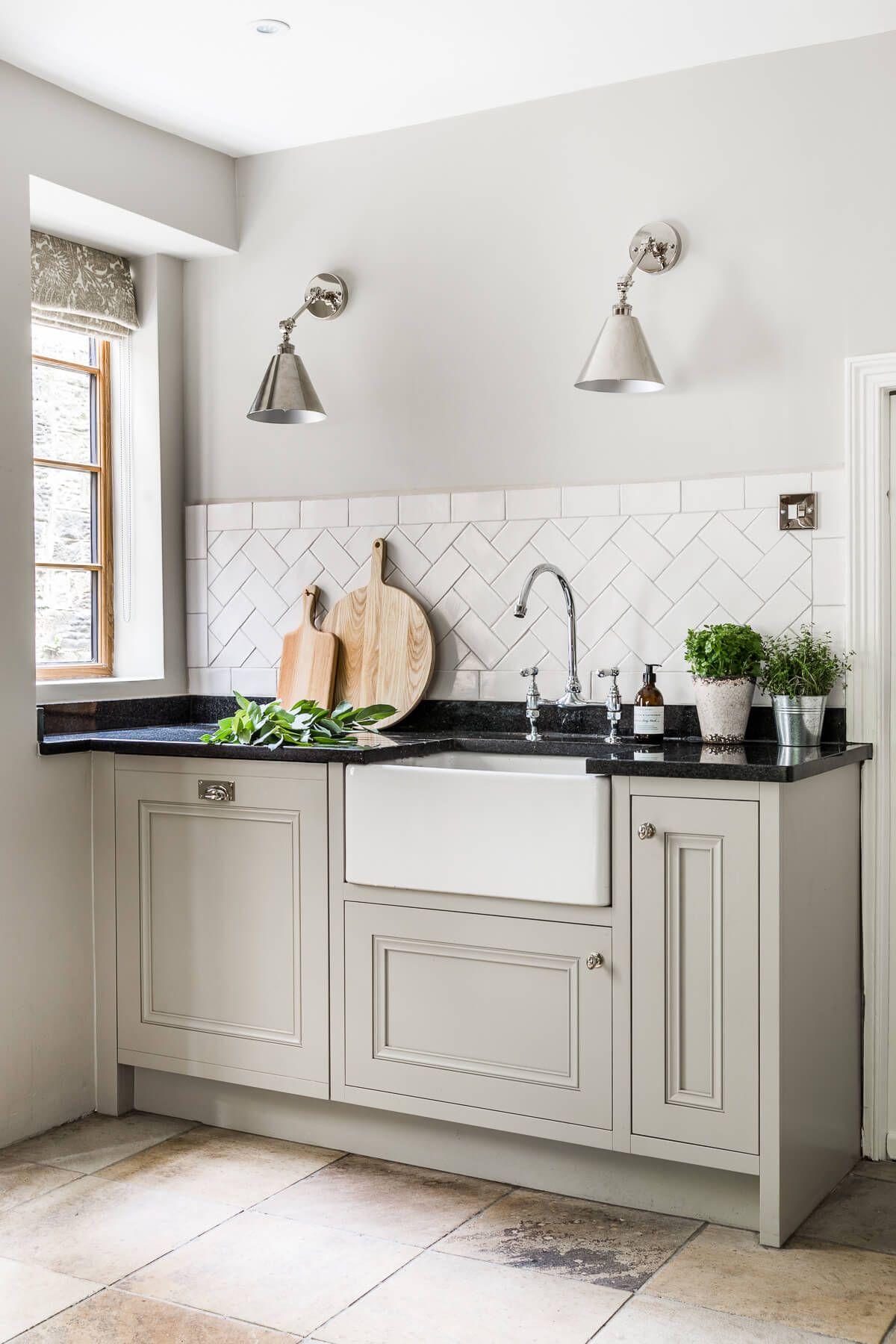 Kitchen, Herringbone Tiles, Tudor House   Misc home decor ...