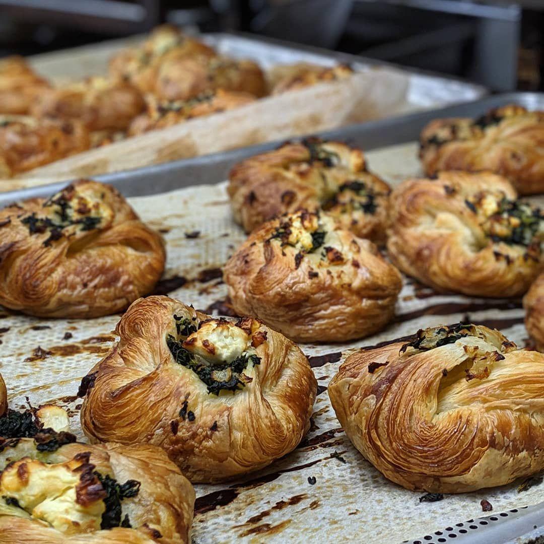 Spinach feta kouign amann. #kouignamann #Pastry #kouignamannrecette