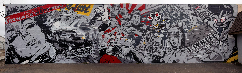 Mural at Hawleywoods