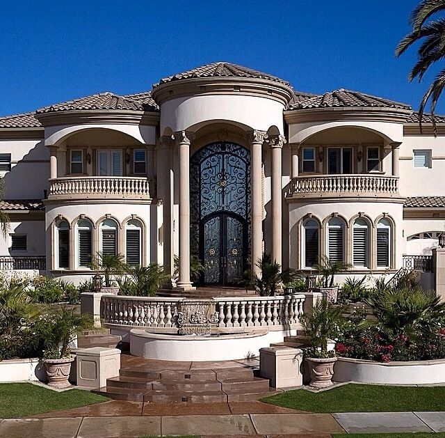 15 Utterly Luxurious Mediterranean Mansion Exterior: House, Architecture And