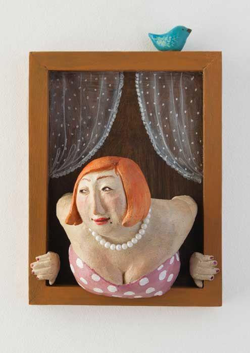 Isabelle Decencière - ceramic and wood