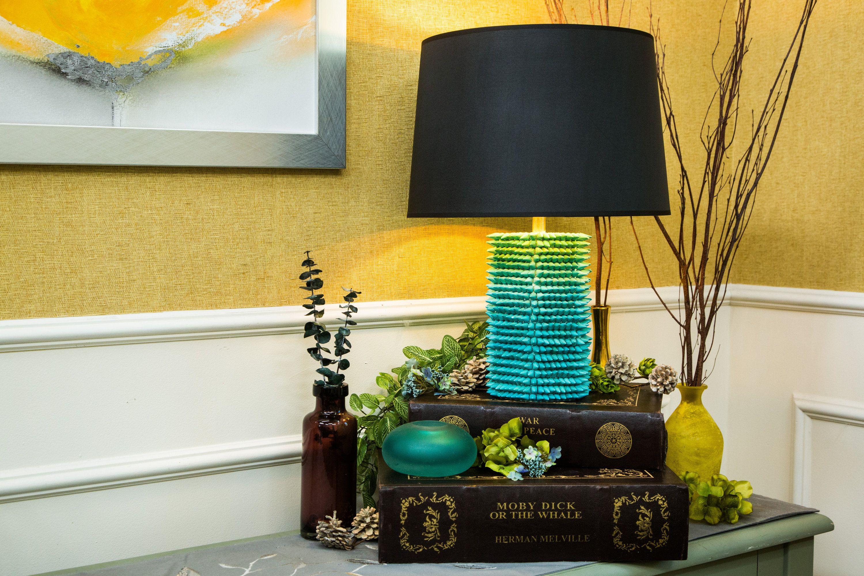 DIY Gemstone Lamp made by Lauren Makk! Don't miss Home
