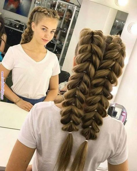 40 Cute And Easy Braided Hairstyle Tutorials Braidedhairstyles Hairstyles Hair Hair And Beauty In 201 Braided Hairstyles Easy Long Hair Styles Hair Styles