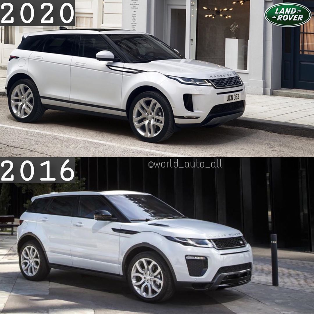 "АВТО on Instagram ""Range Rover Evoque🚗 2020 2016"