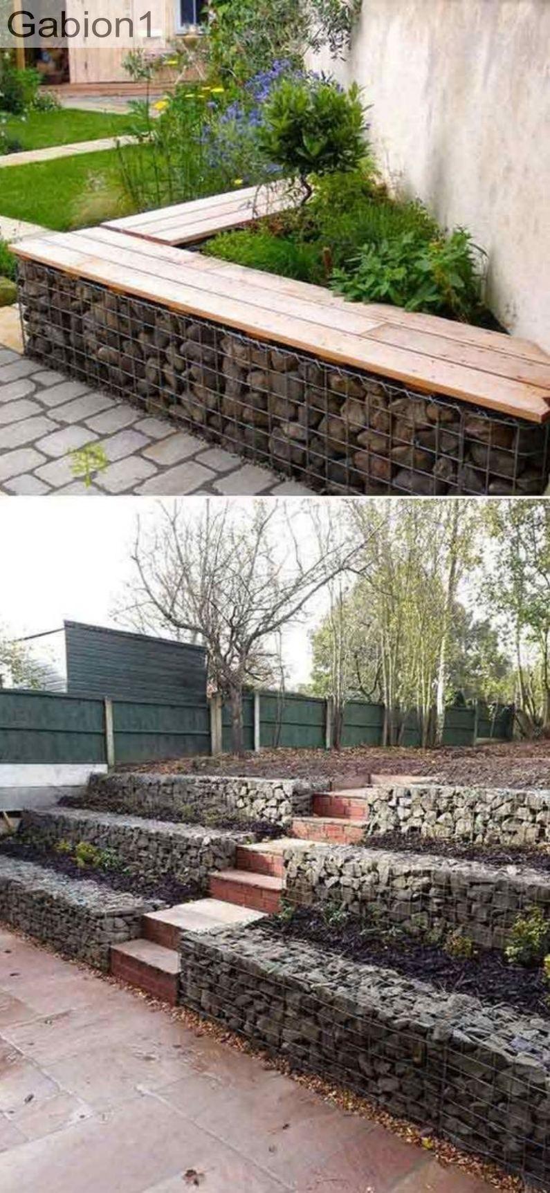 Examples Of Small Gabion Retaining Walls Www Gabion1 Com 640 x 480