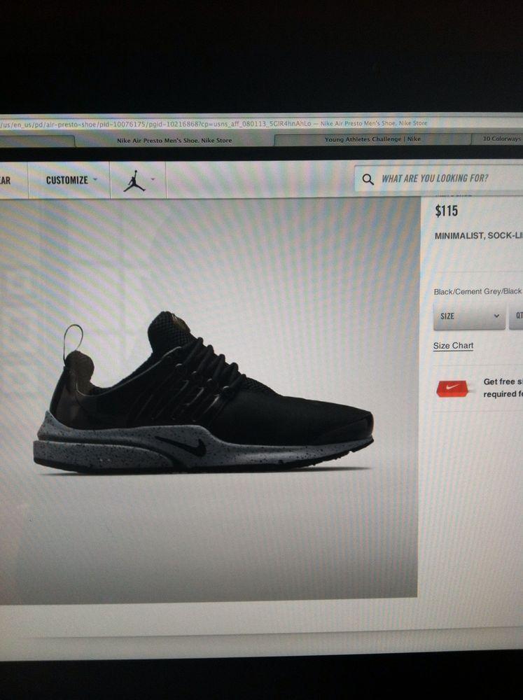 Nike Air Presto SP Genealogy Size XS 8/9 #Nike #AthleticSneakers