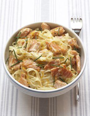 Carbonara au saumon fum recette recettes recipes recette carbonara recette et recettes for Recette mojito grande quantite