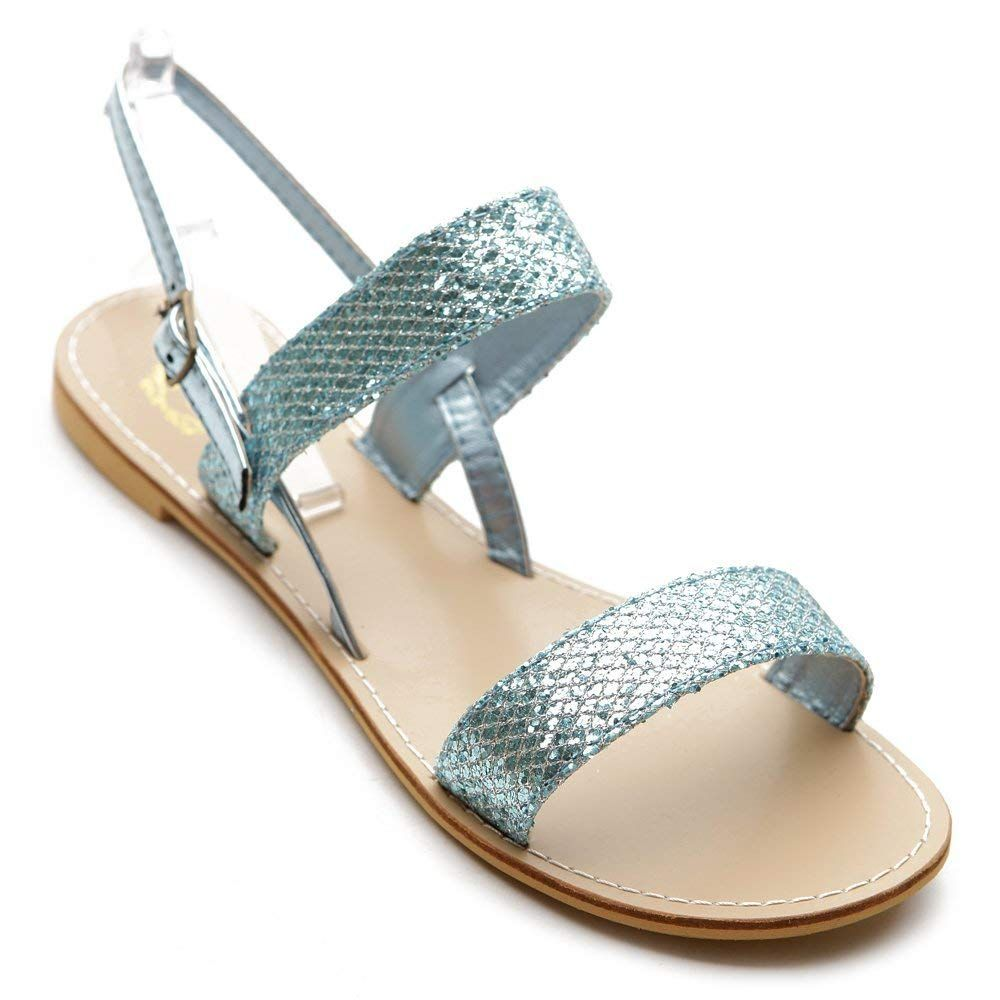 ad4a05ebbfcfb Ollio Women s Shoe Flat Slingback Multi Color Sandal -- Very kind of you to  have dropped by to view our picture. (This is an affiliate link)   ...