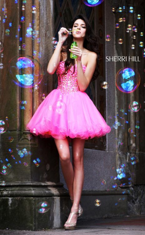 Kendall Jenner from Kendall and Kylie Jenner\'s Sherri Hill Campaign ...