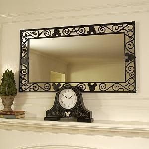 Mickey Mouse Mirror Disney Home Decor It Beats My Tacky Gold One