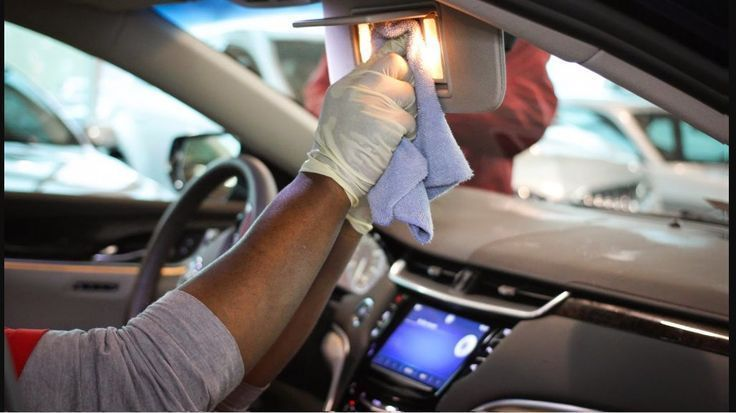 Interior Car Cleaning Hacks
