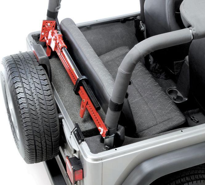 Sport Cage Hi Lift Jack Mount For 97 06 Jeep Wrangler Tj Unlimited Jeep Wrangler Accessories Jeep Wrangler Tj
