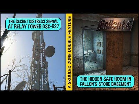 Unlocking The Hidden Distress Signal Fallon S Secret Safe Room In Fallout 4 Fallout 4 Secrets Fallout Fallout Funny