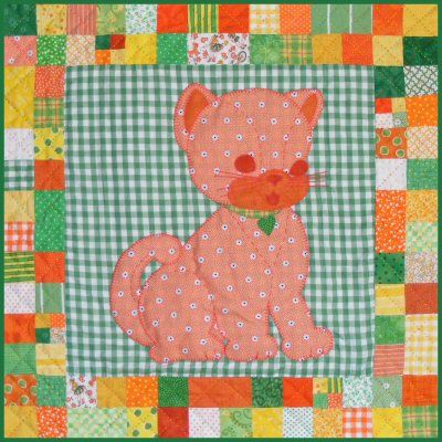 Calico the Cat baby quilt pattern is the first pet quilt, in the Stuffies series of sweet quilts you can make to decorate a nursery. The quilt pattern is available exclusively through my site here: http://www.victorianaquiltdesigns.com/VictorianaQuilters/PatternPage/Stuffies/CalicotheCat.htm #quilting #baby #stuffies