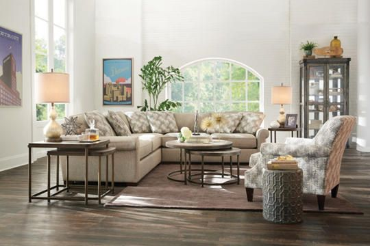 Best Detroit Sofa Co Jefferson Sectional Uses Taupe And Grey 400 x 300