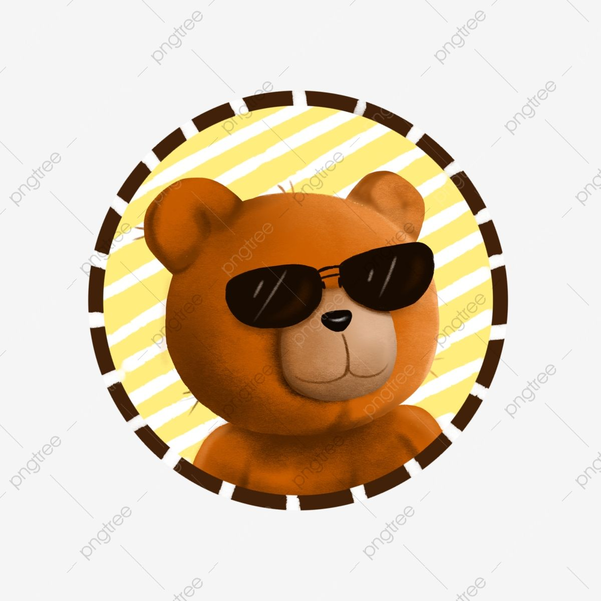 Bear Avatar Bear Head Portrait Cute Bear Cdr Png Transparent Clipart Image And Psd File For Free Download Cute Bears Iphone Homescreen Wallpaper Cute Banners