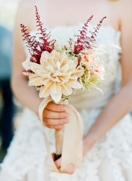 Vintage Mountain Wedding Inspiration from Kelli Hunt + Save The Date ...