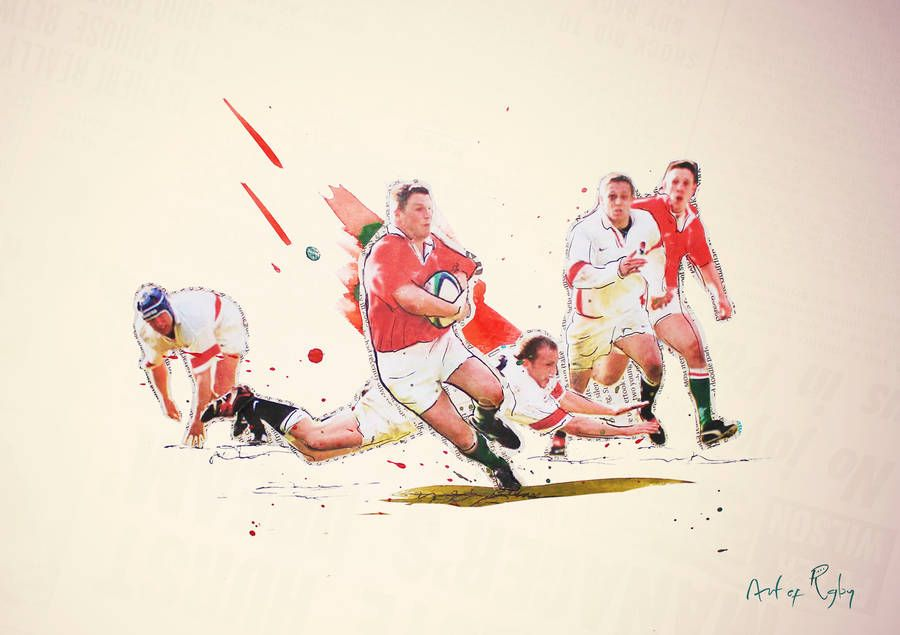 Heartbreaker Wales Rugby Print In 2020 Wales Rugby Rugby Wales