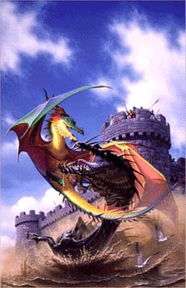 war dragons by Den Beauvais