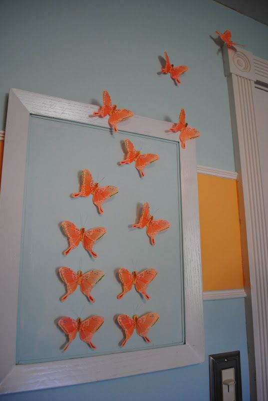 Diy Butterfly Wall Art Nursery Decor Making Lemonade