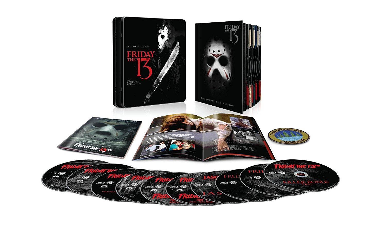 Halloween Blu Ray Box Set.Friday The 13th The Complete Collection Blu Ray Friday