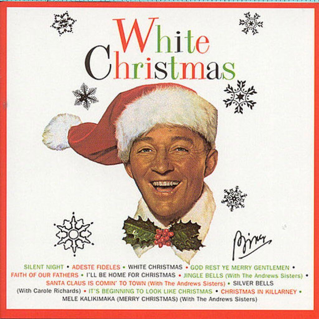 Bing Crosby White Christmas Christmas cds, Christmas