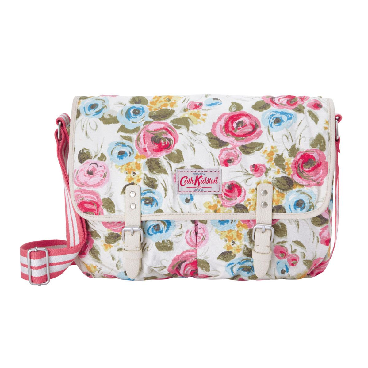 Cross body bags painterly rose cotton saddle bag cathkidston cross body bags painterly rose cotton saddle bag cathkidston doublecrazyfo Images