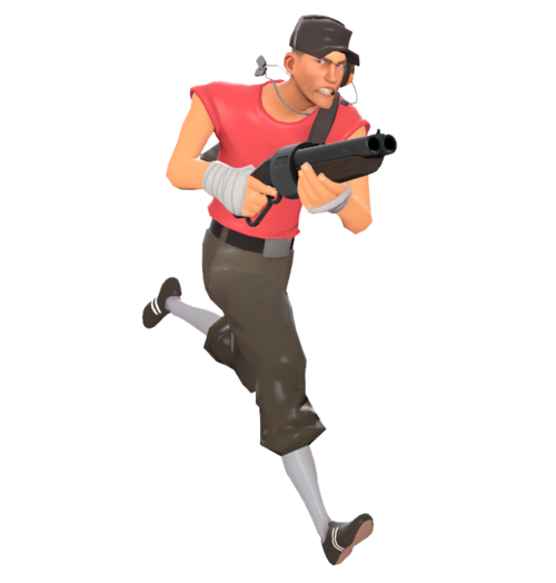 Scout Official Tf2 Wiki Official Team Fortress Wiki Team Fortress 2 Team Fortress Tf2 Funny