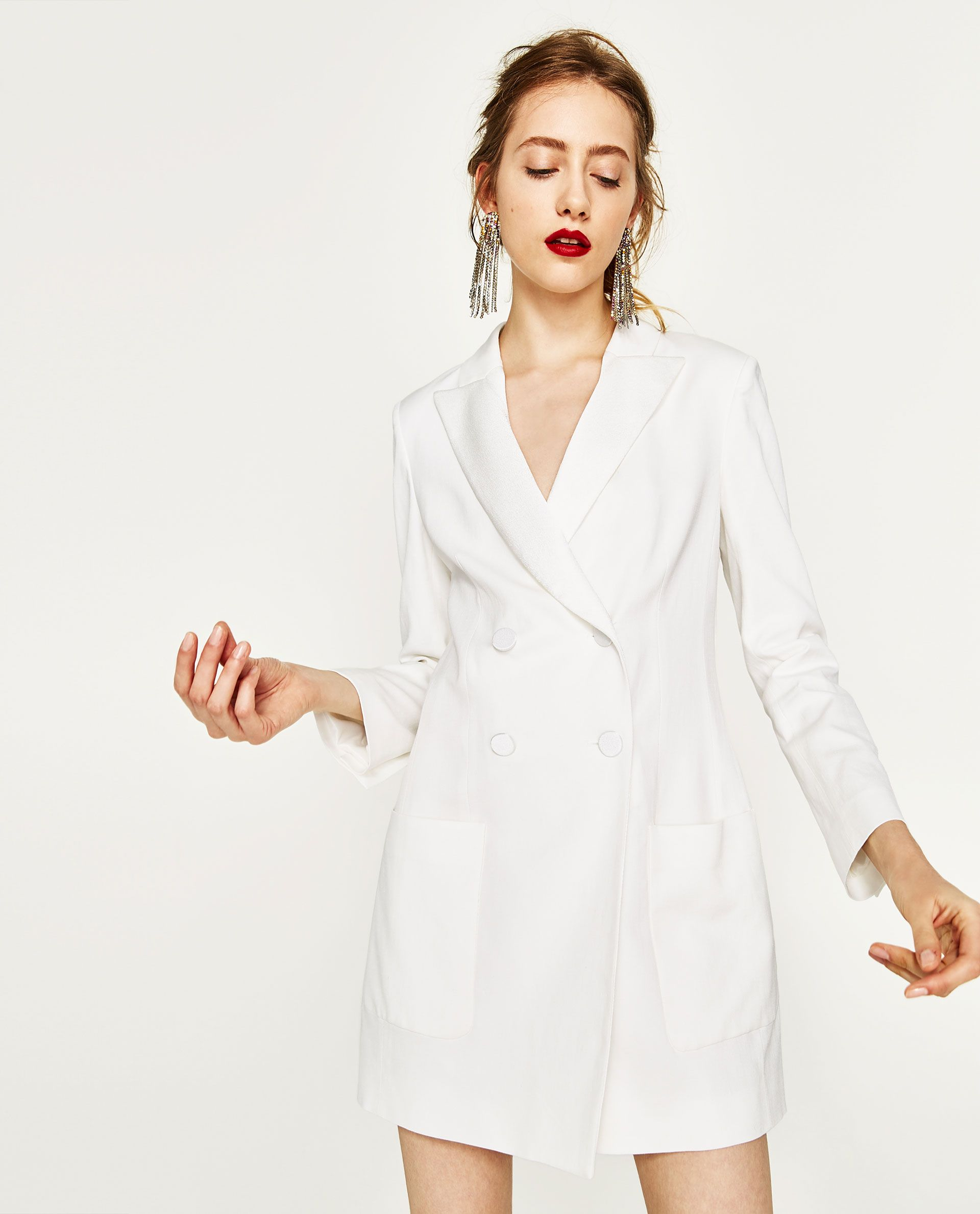 Long double breasted jacket s t y l e pinterest shopping